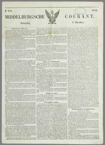 Middelburgsche Courant 1862-10-04