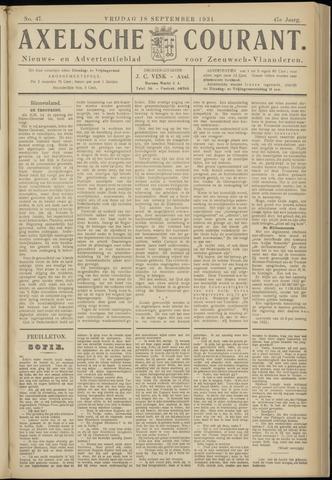 Axelsche Courant 1931-09-18