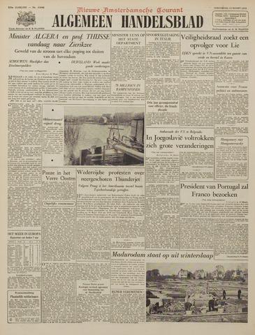 Watersnood documentatie 1953 - kranten 1953-03-12