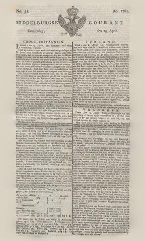 Middelburgsche Courant 1762-04-29