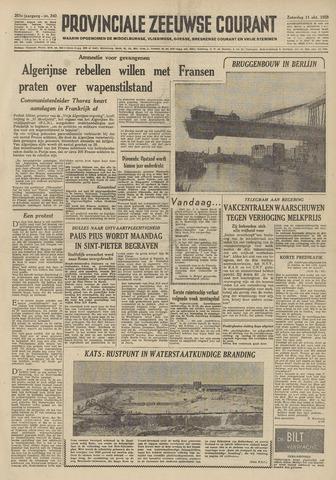 Provinciale Zeeuwse Courant 1958-10-11