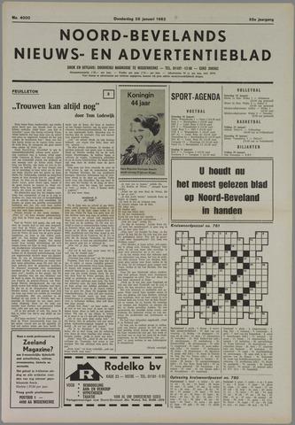 Noord-Bevelands Nieuws- en advertentieblad 1982-01-28
