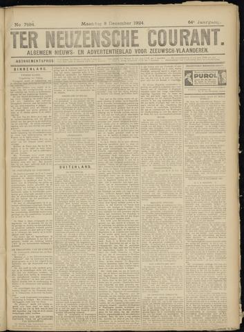 Ter Neuzensche Courant. Algemeen Nieuws- en Advertentieblad voor Zeeuwsch-Vlaanderen / Neuzensche Courant ... (idem) / (Algemeen) nieuws en advertentieblad voor Zeeuwsch-Vlaanderen 1924-12-08