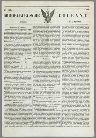 Middelburgsche Courant 1871-08-15