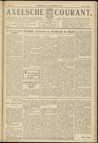Axelsche Courant 1941-08-15
