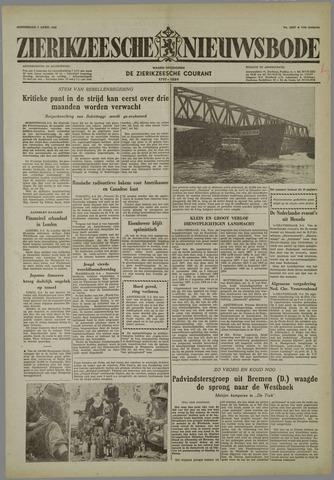 Zierikzeesche Nieuwsbode 1958-04-03