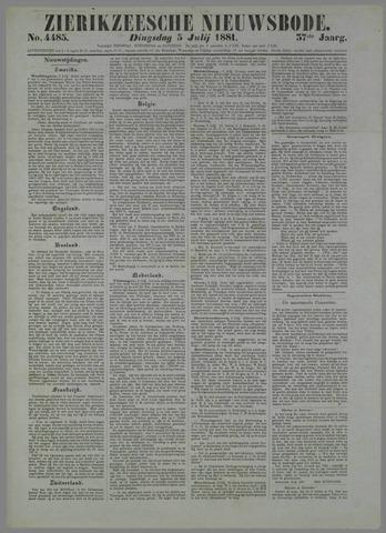 Zierikzeesche Nieuwsbode 1881-07-05
