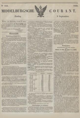 Middelburgsche Courant 1866-09-09