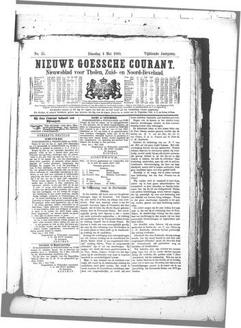 Nieuwe Goessche Courant 1880-05-04