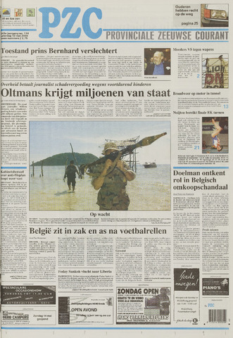 Provinciale Zeeuwse Courant 2000-05-13