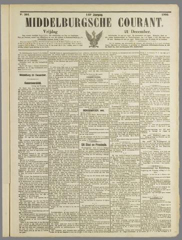 Middelburgsche Courant 1906-12-21