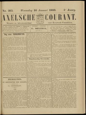 Axelsche Courant 1889-01-16
