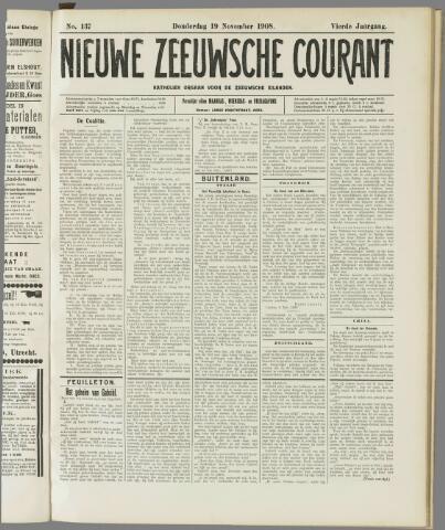 Nieuwe Zeeuwsche Courant 1908-11-19