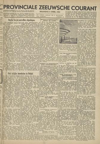 Provinciale Zeeuwse Courant 1944-04-03