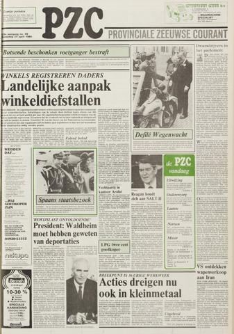Provinciale Zeeuwse Courant 1986-04-23