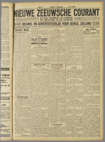 Nieuwe Zeeuwsche Courant 1929-04-27