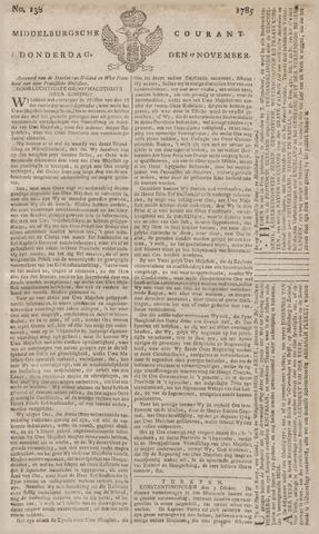 Middelburgsche Courant 1785-11-17