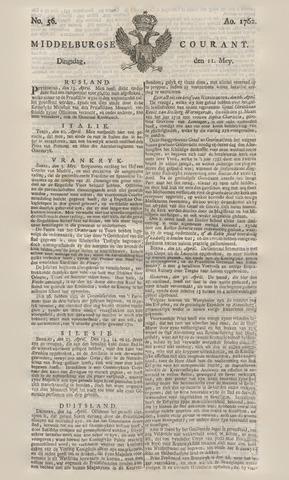 Middelburgsche Courant 1762-05-11