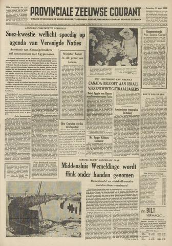 Provinciale Zeeuwse Courant 1956-09-22