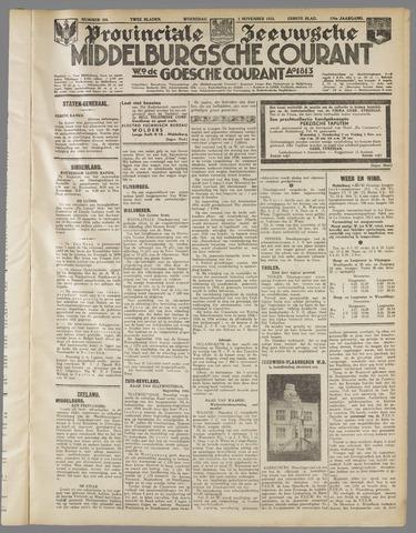 Middelburgsche Courant 1933-11-01