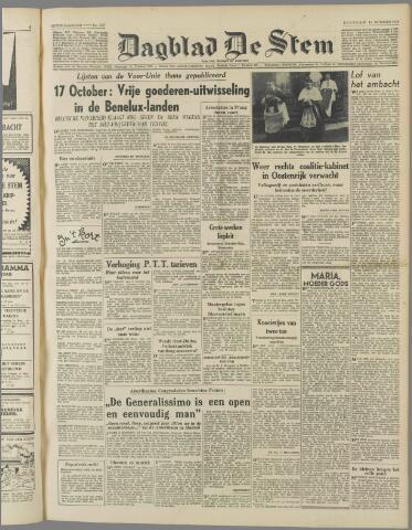 de Stem 1949-10-11