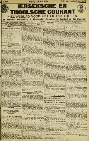 Ierseksche en Thoolsche Courant 1931-05-29