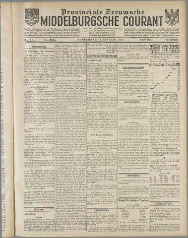 Middelburgsche Courant 1932-01-14