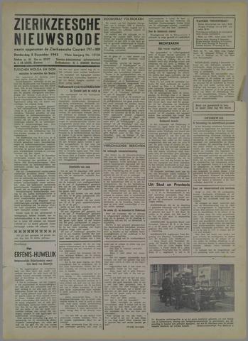 Zierikzeesche Nieuwsbode 1942-12-03