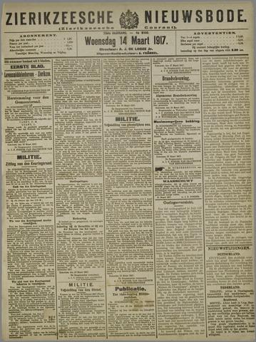 Zierikzeesche Nieuwsbode 1917-03-14