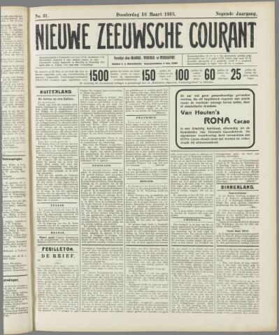 Nieuwe Zeeuwsche Courant 1913-03-13