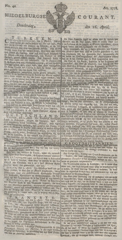 Middelburgsche Courant 1778-04-16