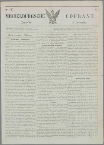 Middelburgsche Courant 1854-12-09
