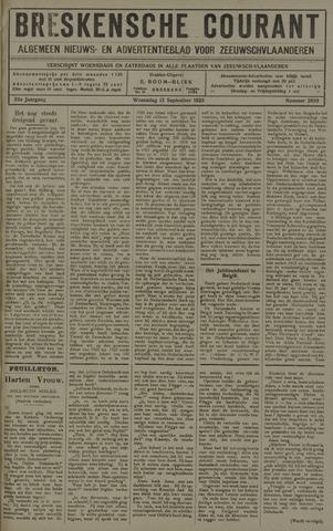 Breskensche Courant 1923-09-12