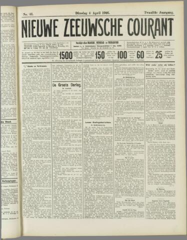 Nieuwe Zeeuwsche Courant 1916-04-04