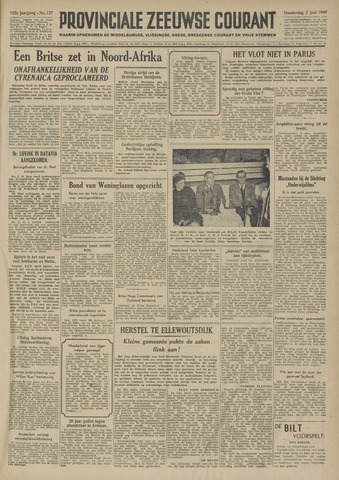 Provinciale Zeeuwse Courant 1949-06-02