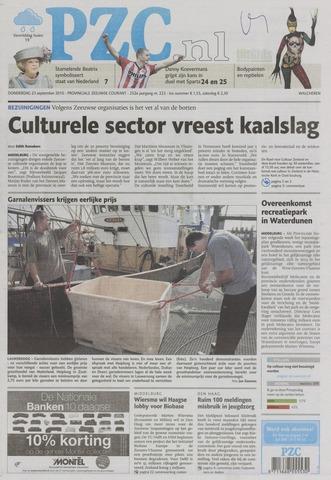 Provinciale Zeeuwse Courant 2010-09-23