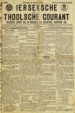 Ierseksche en Thoolsche Courant 1916-01-15