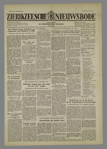 Zierikzeesche Nieuwsbode 1954-12-09