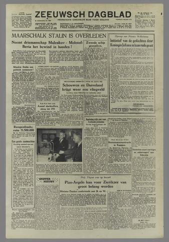 Zeeuwsch Dagblad 1953-03-06