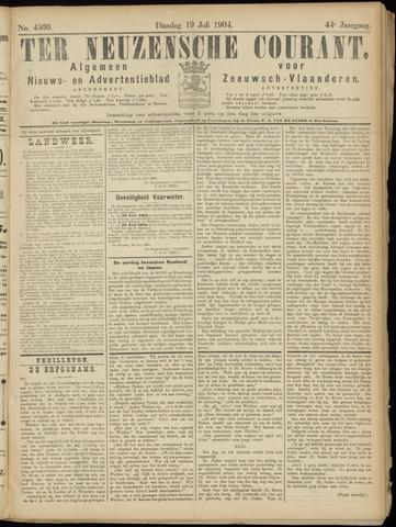 Ter Neuzensche Courant. Algemeen Nieuws- en Advertentieblad voor Zeeuwsch-Vlaanderen / Neuzensche Courant ... (idem) / (Algemeen) nieuws en advertentieblad voor Zeeuwsch-Vlaanderen 1904-07-19