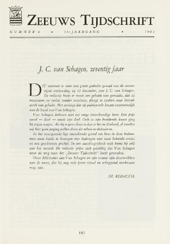 Zeeuws Tijdschrift 1961-11-01