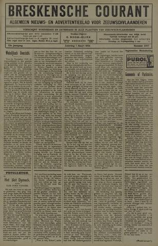 Breskensche Courant 1924-03-01