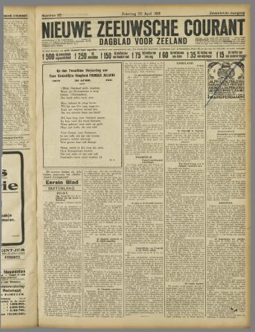 Nieuwe Zeeuwsche Courant 1921-04-30