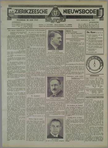 Zierikzeesche Nieuwsbode 1937-06-28
