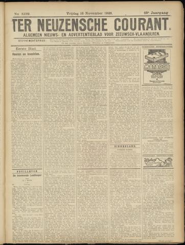 Ter Neuzensche Courant. Algemeen Nieuws- en Advertentieblad voor Zeeuwsch-Vlaanderen / Neuzensche Courant ... (idem) / (Algemeen) nieuws en advertentieblad voor Zeeuwsch-Vlaanderen 1928-11-16