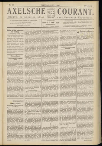 Axelsche Courant 1940-07-05