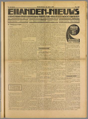 Eilanden-nieuws. Christelijk streekblad op gereformeerde grondslag 1935-06-26