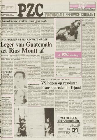 Provinciale Zeeuwse Courant 1983-08-09