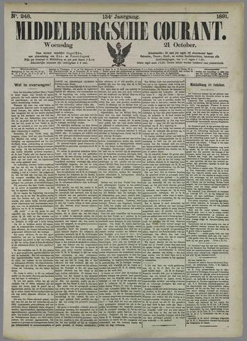 Middelburgsche Courant 1891-10-21