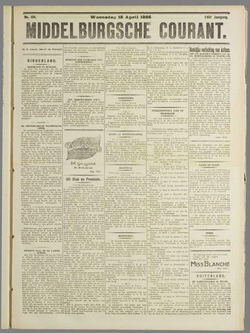 Middelburgsche Courant 1925-04-15